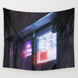 Urban Nights, Urban Lights #9 Wall Tapestry