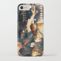 snail iPhone & iPod Cases featuring snail by Gemi