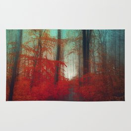Red Forest Dream Rug