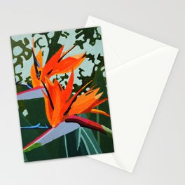 Strelitzia - Bird of Paradise Stationery Cards