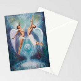 Heavenly Ties Stationery Cards