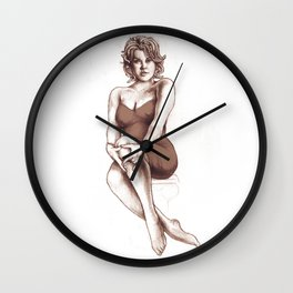 Medusa Wall Clock