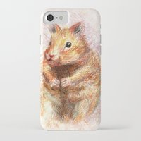 hamster iPhone & iPod Cases featuring hamster by dace k