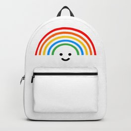 Smiley rainbow Backpack