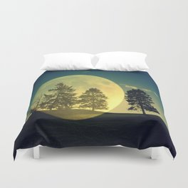 Landscape with trees Duvet Cover