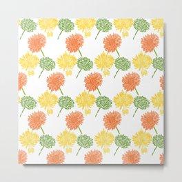 citrus flowers Metal Print