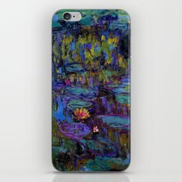 Water Lilies by Claude Monet iPhone Skin