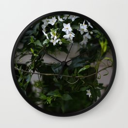 Christmas Jasmine Wall Clock