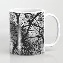 Dramatic London Tree Silhouette Coffee Mug