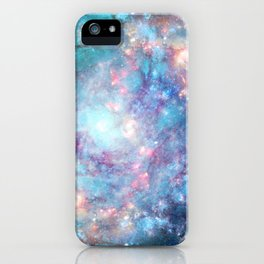 Abstract Galaxies 2 iPhone Case