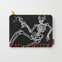 Dead Inside Skeleton Carry-All Pouch