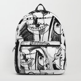 Waiting for Salvation - b&w Backpack
