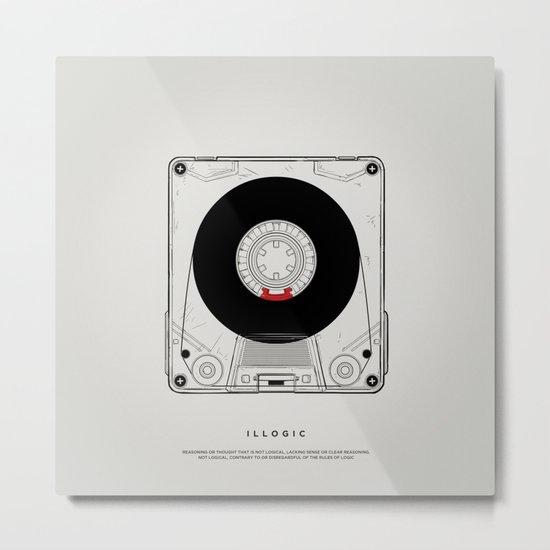 STV - Illogic A01 Metal Print