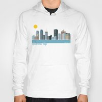 montreal Hoodies featuring Montreal City by loogart