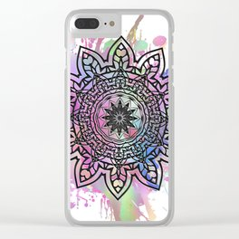 Astra Psychedelica (pink) Clear iPhone Case