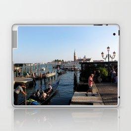 gondolier - venice Laptop & iPad Skin