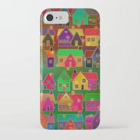 merry christmas iPhone & iPod Cases featuring Merry Christmas! by Klara Acel