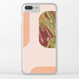Mid-Century Tropical Way #society6 #tropical Clear iPhone Case