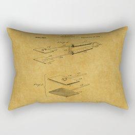 Hair Straightener Patent 1 Rectangular Pillow