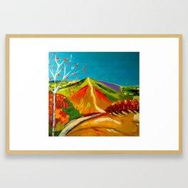 North Hill  Malvern in Autumn Framed Art Print
