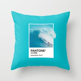 Pantone Series – Hawaiian Surf Throw Pillow