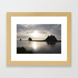 LaPush Sunset Framed Art Print