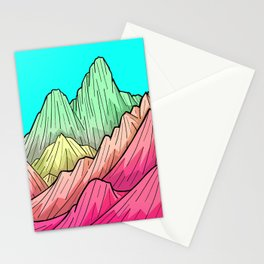 Candy Colour Mounts Stationery Cards