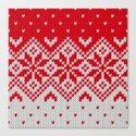 Winter knitted pattern 10 by knittedcake