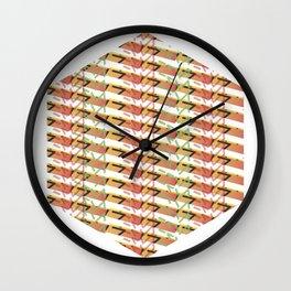 Sunset Exagon Wall Clock