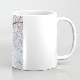 Vintage pink tree Coffee Mug