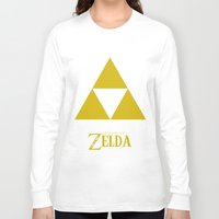 triforce Long Sleeve T-shirts featuring Triforce by Jynxit