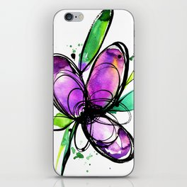 Ecstasy Bloom 10 by Kathy Morton Stanion iPhone Skin