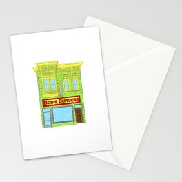 Bob's Burgers Stationery Cards