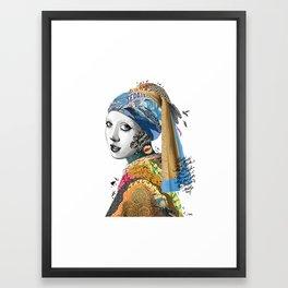 All Mad Here Framed Art Print