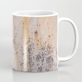 Abstract textures in old metal Coffee Mug