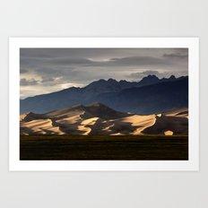 Great Sand Dunes National Park. Art Print