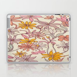Pretty Floral Laptop & iPad Skin