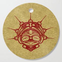 Blood Frog Sand Cutting Board
