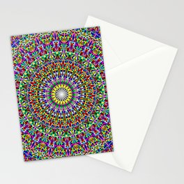 Floral Bohemian Magic Mandala Stationery Cards