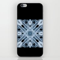 snowflake iPhone & iPod Skins featuring Snowflake by Steve Purnell