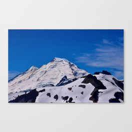 Mt Baker Springtime Canvas Print