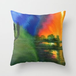 Witnesses Throw Pillow