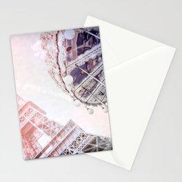 I Dream of Paris Pink Stationery Cards