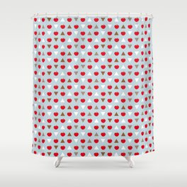 COFFEE MORNING Shower Curtain