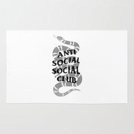 Anti social social club and Gucc i Rug
