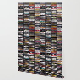 Old 80's & 90's Hip Hop Tapes Wallpaper