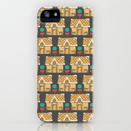 Ginger Bread House-1 iPhone Case