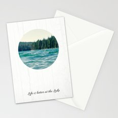 Life on the Lake Stationery Cards