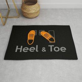 Heel & Toe Rug