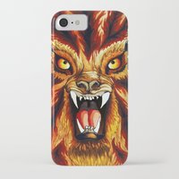 werewolf iPhone & iPod Cases featuring Werewolf by BluedarkArt
